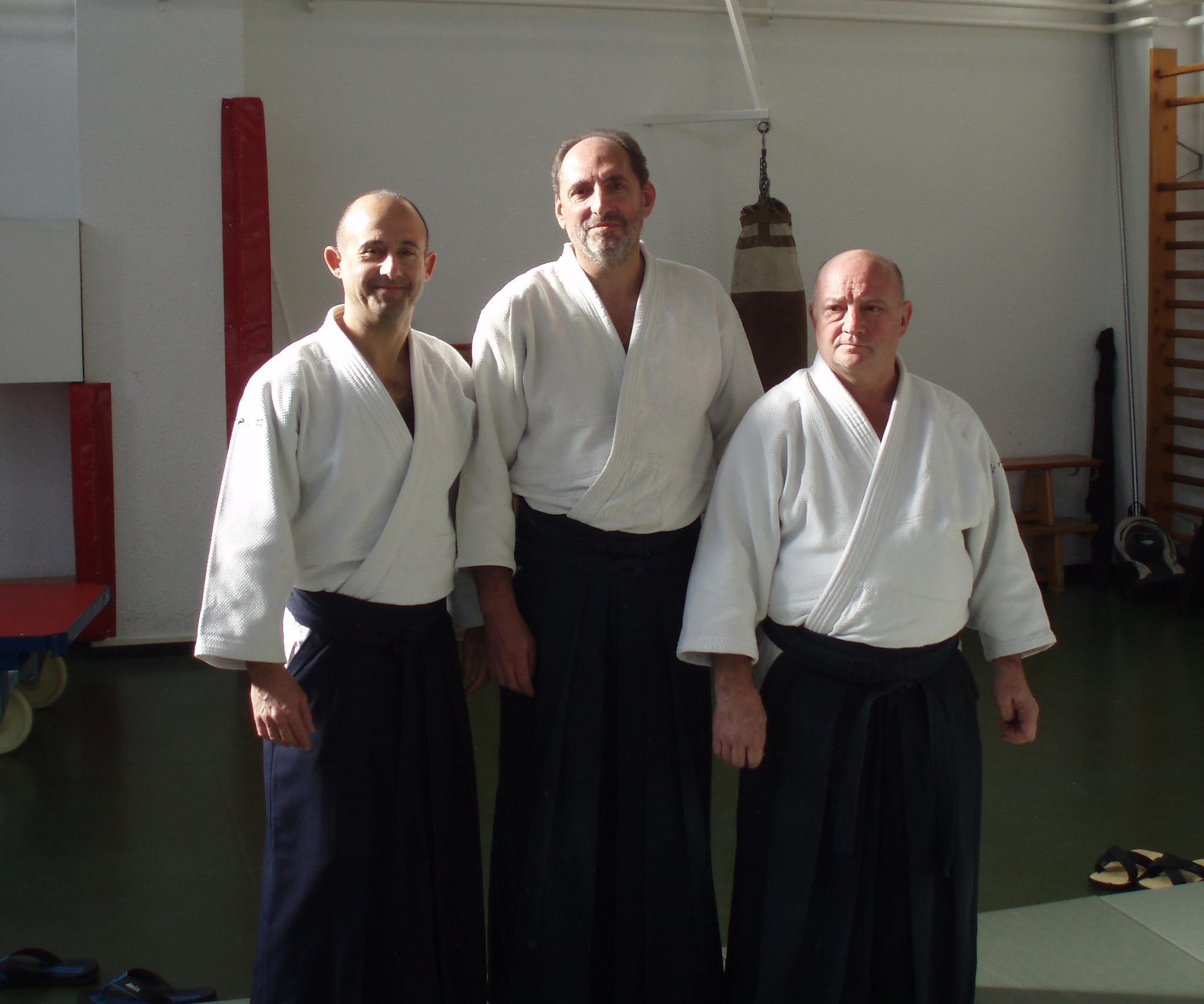 Arturo Navarro, Raúl Melantuche y Salvador Pérez